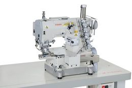 WT169P : Variable top feed, interlock stitch machines with an extremely small-sized cylinder bed