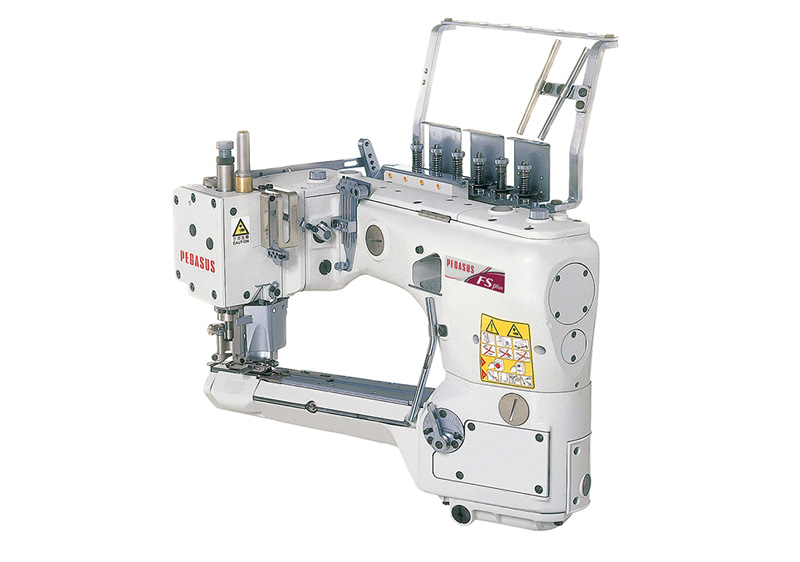 FS700P : Feed-off-the-arm, cylinder bed, 4-needle interlock stitch machines for flat seaming